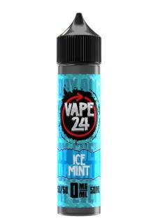 Vape 24 Ice Mint Shortfill