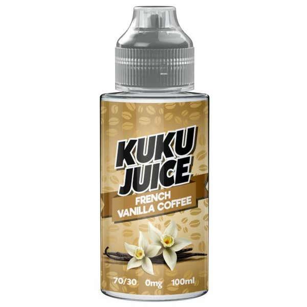 French Vanilla Coffee Shortfill by Kuku Juice