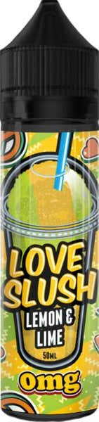 Lemon & Lime Slush Shortfill by Love Slush