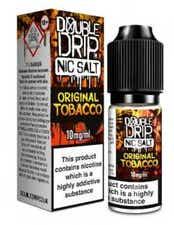 Original Tobacco Nicotine Salt by Double Drip