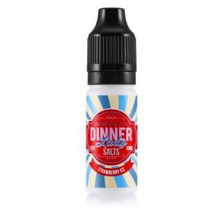 Dinner Lady Strawberry Ice Nicotine Salt