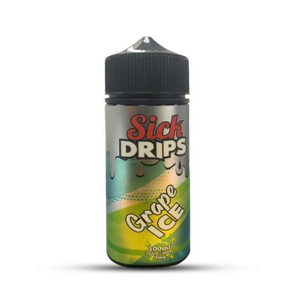 Grape Ice Shortfill by Sick Drips