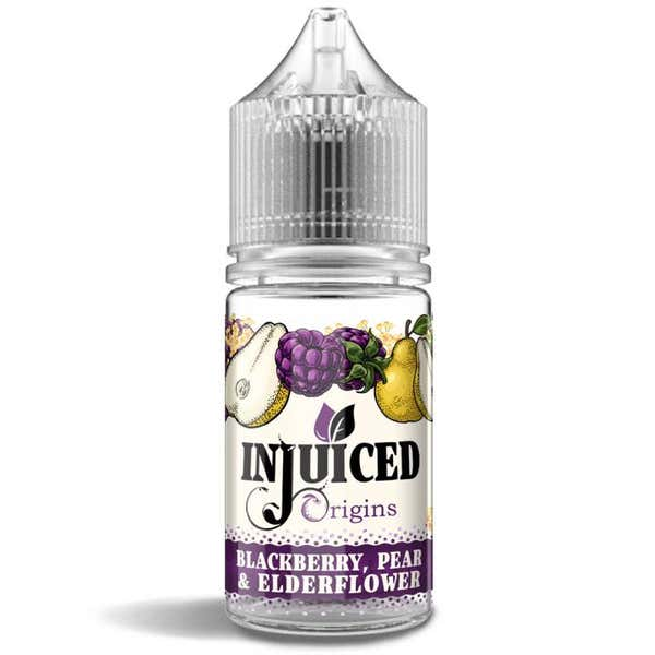 Blackberry, Pear & Elderflower Shortfill by Injuiced Origins