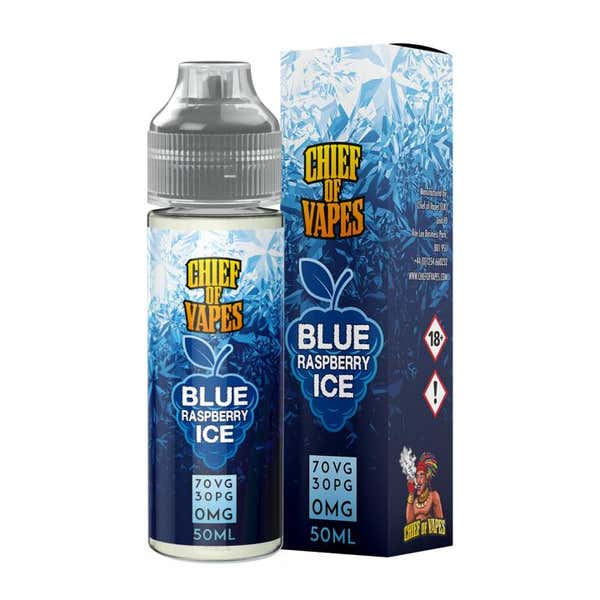 Blue Raspberry Ice Shortfill by Chief Of Vapes