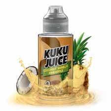 Coconut Vanilla Pineapple Shortfill by Kuku