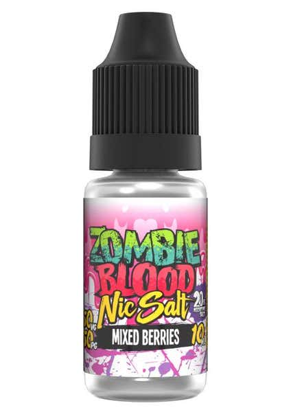 Mixed Berries Nicotine Salt by Zombie Blood