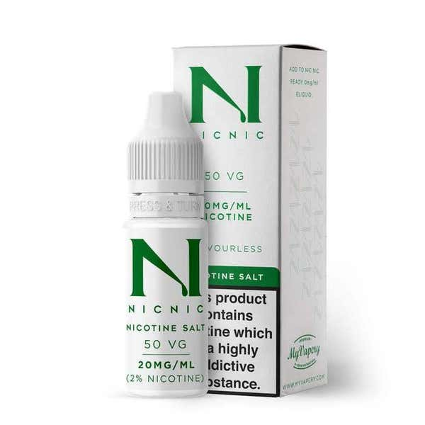 Nicotine Salt Shot Nicotine Salt by Nic Nic