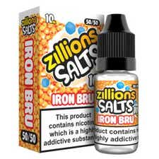 Iron Bru Nicotine Salt by Zillions