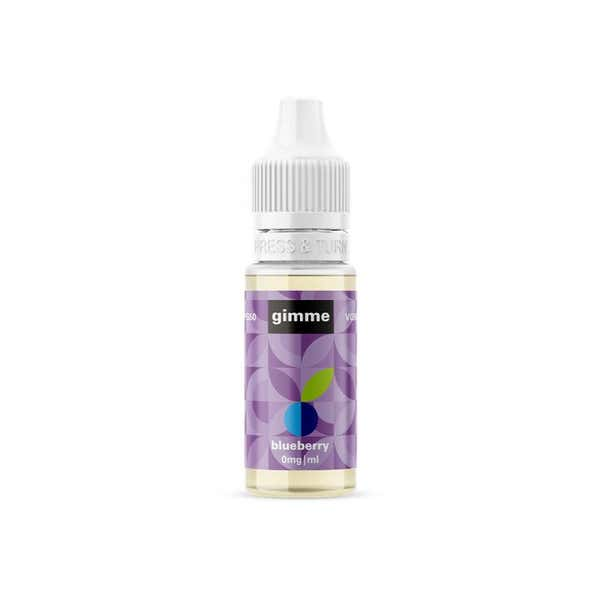 Blueberry Regular 10ml by Gimme