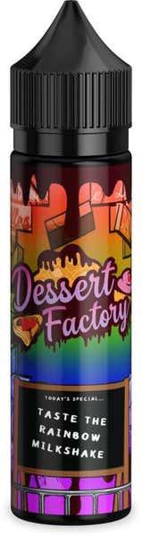 Taste The Rainbow Milkshack Shortfill by Dessert Factory