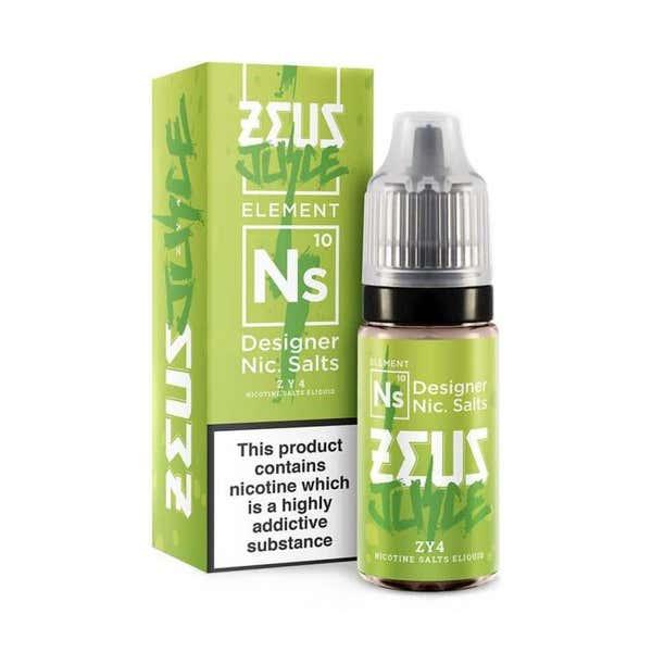 ZY4 Nicotine Salt by Zeus Juice