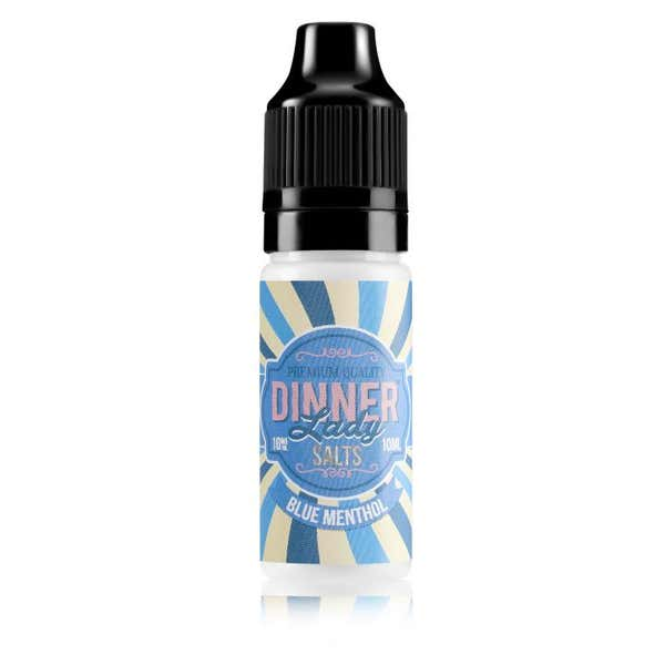 Blue Menthol Nicotine Salt by Dinner Lady