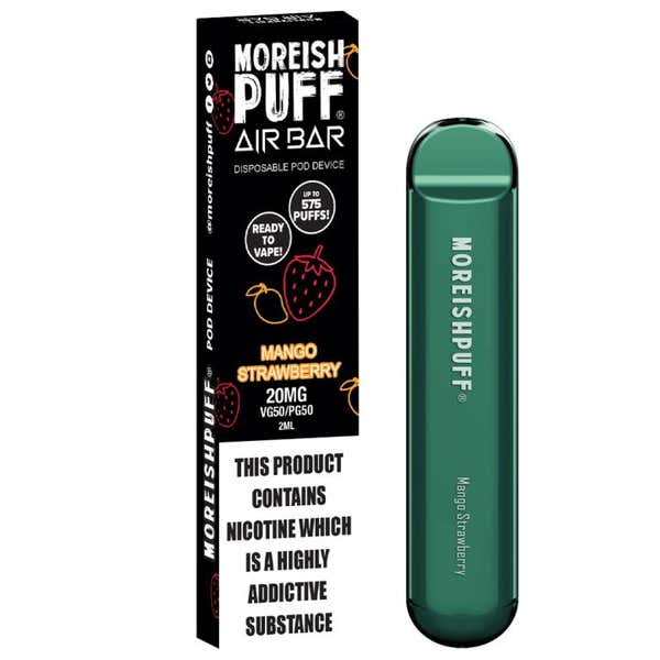 Mango Strawberry Disposable by Moreish Puff