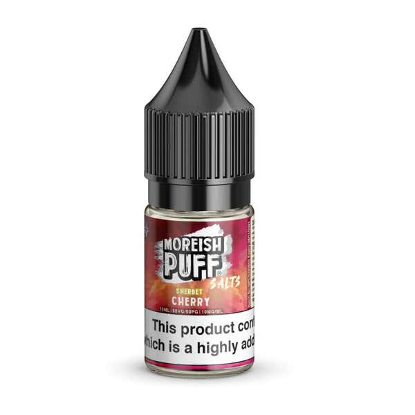 Cherry Sherbet Nicotine Salt by Moreish Puff