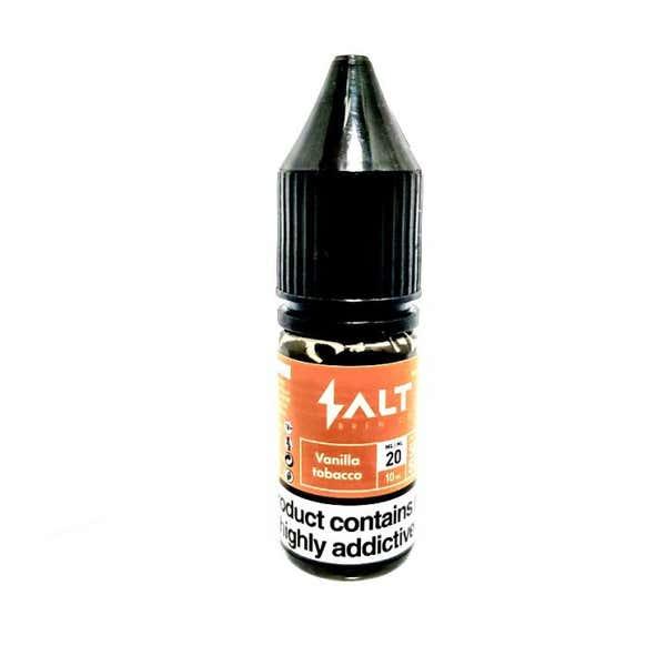Vanilla Tobacco Nicotine Salt by Salt Brew Co