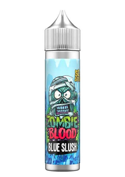 Blue Slush Shortfill by Zombie Blood