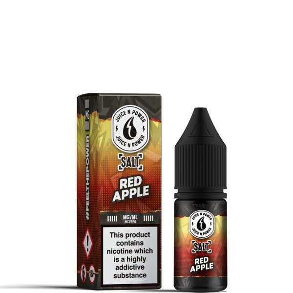 Red Apple Nicotine Salt by Juice N Power