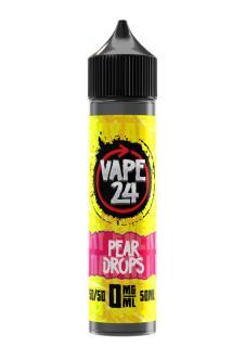 Vape 24 Pear Drops Shortfill