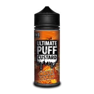 Ultimate Puff Custard Maple Syrup Shortfill