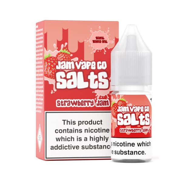 Strawberry Jam Nicotine Salt by Jam Vape Co