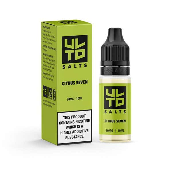 Citrus Seven Nicotine Salt by ULTD