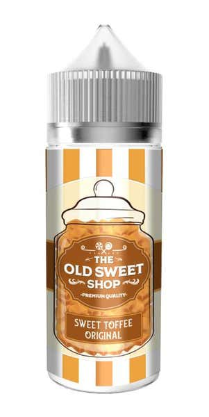 Sweet Toffee Original Shortfill by The Old Sweet Shop
