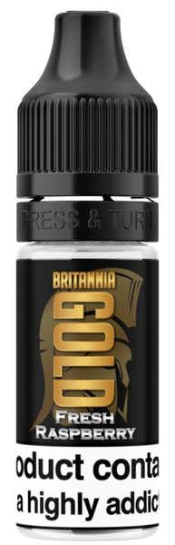 Fresh Raspberry Regular 10ml by Britannia Gold
