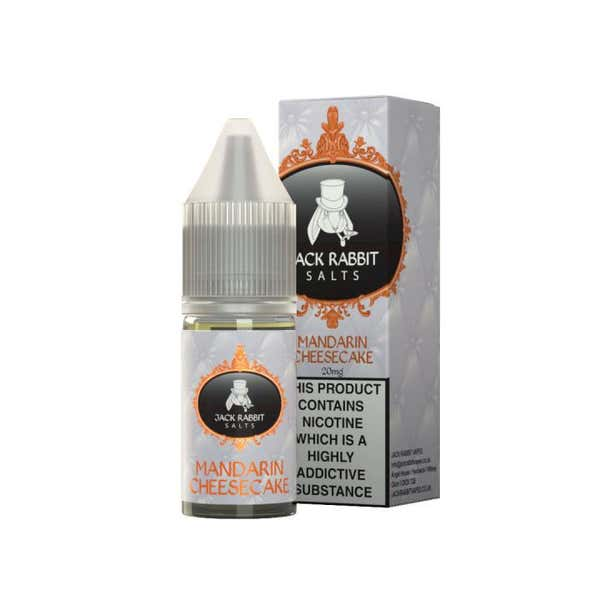 Mandarin Cheesecake Nicotine Salt by Jack Rabbit
