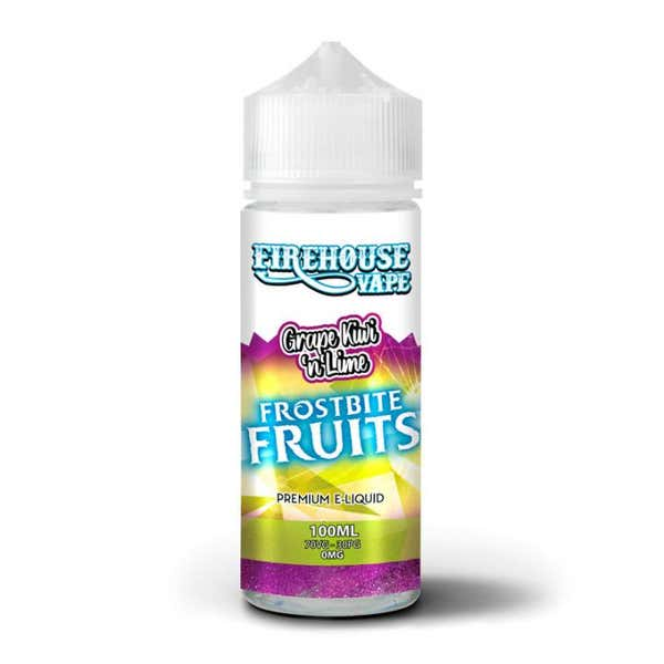 Grape,Kiwi And Lime Shortfill by Firehouse Vape