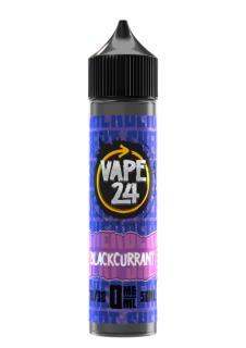 Vape 24 Sherbet Blackcurrant Shortfill