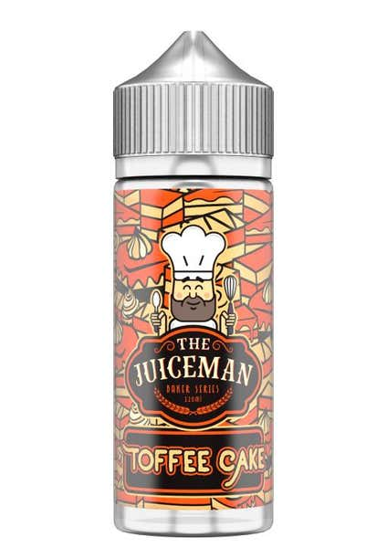 Toffee Cake Shortfill by The Juiceman