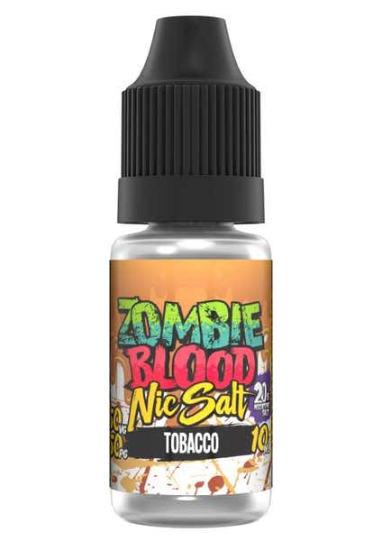 Tobacco Nicotine Salt by Zombie Blood
