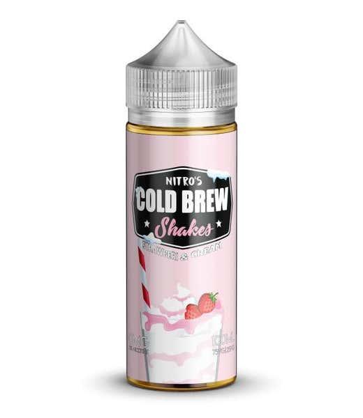 Strawberry & Cream Shortfill by Nitros Cold Brew