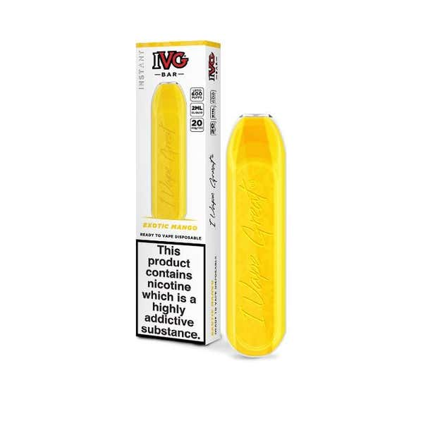 Exotic Mango Disposable by IVG