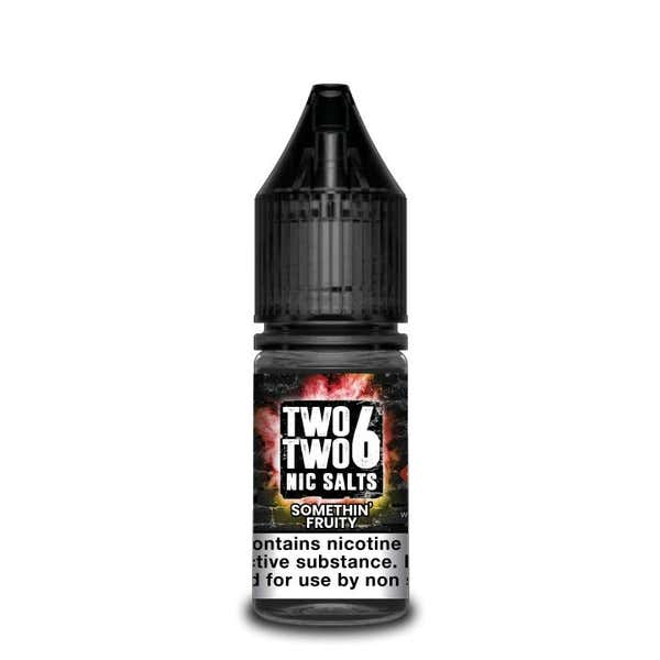 Somethin Fruity Nicotine Salt by Two Two 6