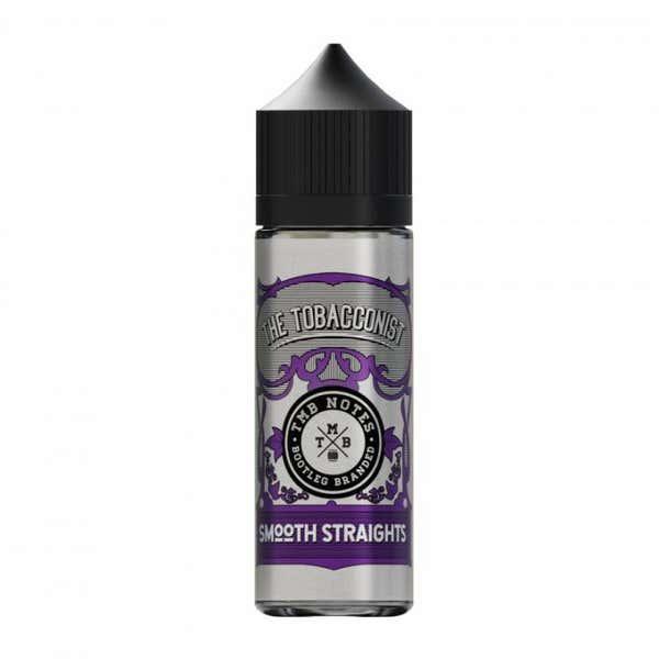 Smooth Straights Shortfill by TMB Notes