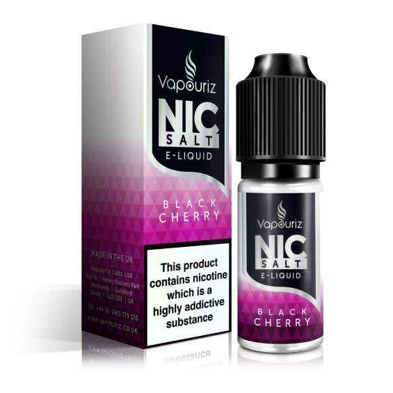 Black Cherry Nicotine Salt by Vapouriz