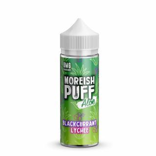 Moreish Puff Blackcurrant Lychee Aloe Shortfill