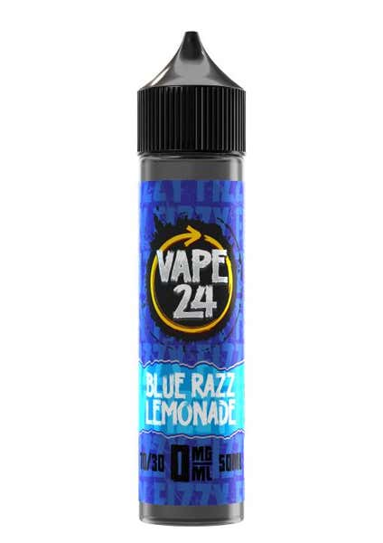 Fizzy Blue Razz Lemonade Shortfill by Vape 24