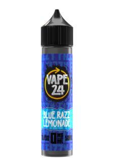 Vape 24 Fizzy Blue Razz Lemonade Shortfill