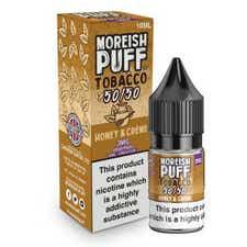 Honey & Creme Tobacco Regular 10ml by Moreish Puff