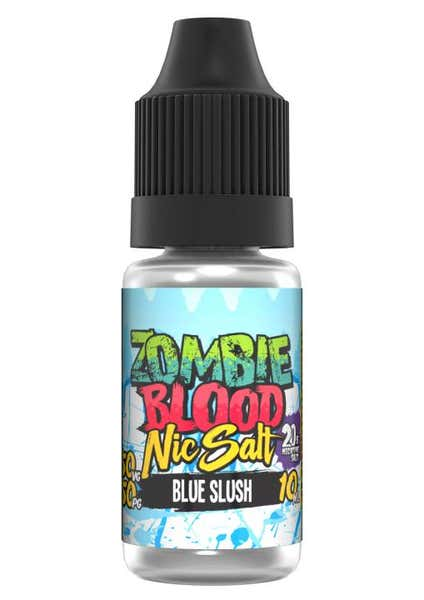 Blue Slush Nicotine Salt by Zombie Blood