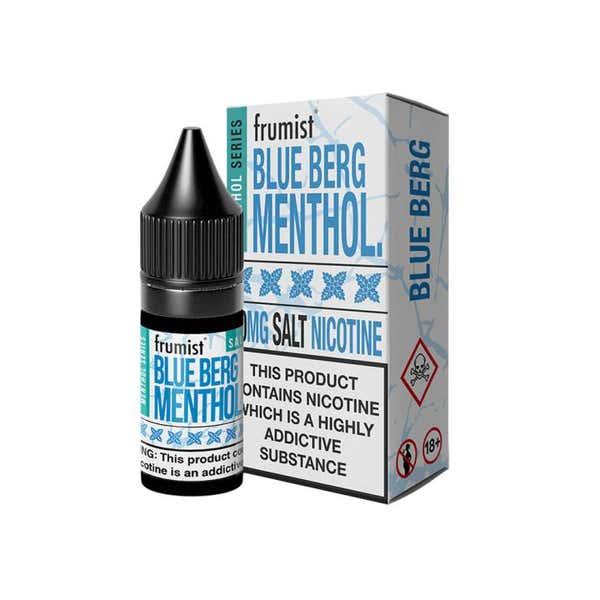 Blue Berg Menthol Nicotine Salt by Frumist