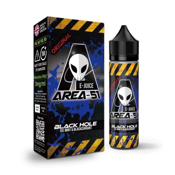 Black Hole Shortfill by Area 51
