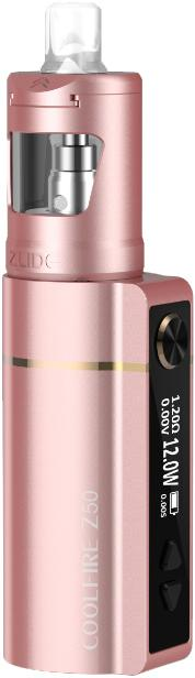 Coral PinkZinc Alloy CoolFire Z50 Vape Device by Innokin