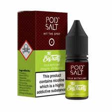 Cola With Lime Nicotine Salt by Pod Salt