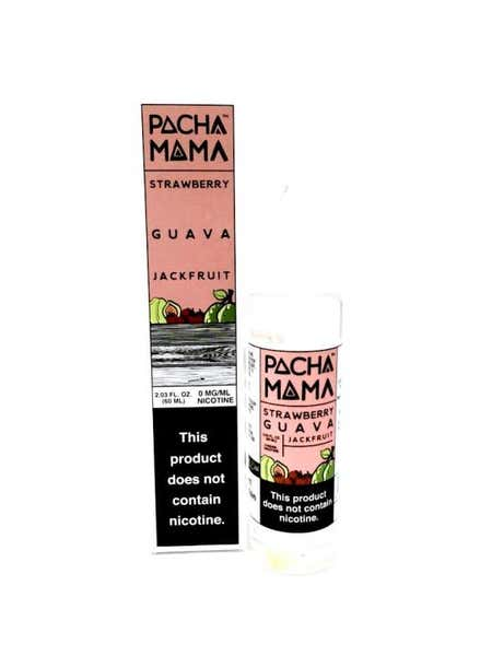Strawberry, Guava & Jackfruit Shortfill by Pacha Mama
