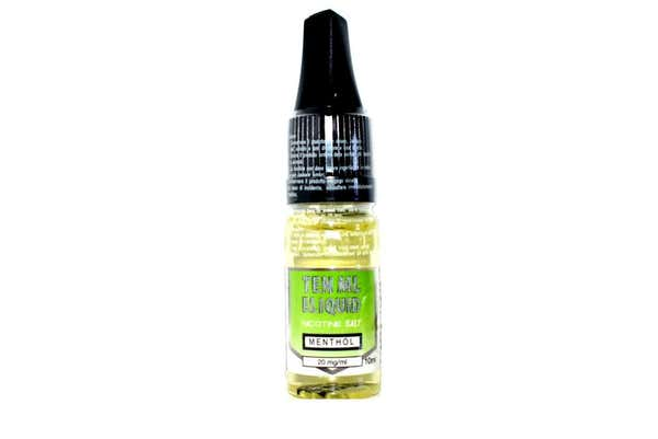 Menthol Nicotine Salt by 10ml by P&S