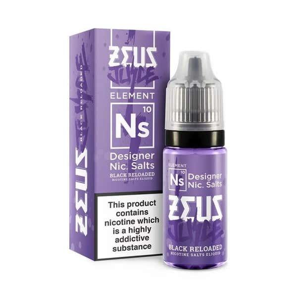 Black Reloaded Nicotine Salt by Zeus Juice