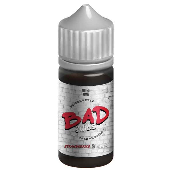Strawberries And Cream Shortfill by BAD Juice
